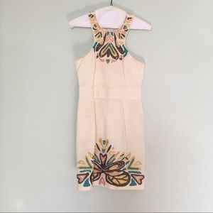 French Connection Embroidered Dress